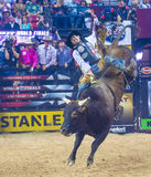 PBR bull riding world finals Royalty Free Stock Photos
