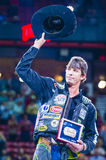 PBR bull riding world finals Royalty Free Stock Image