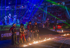 PBR byka jeździeccy światowi finały Fotografia Stock