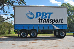 PBT Transport Royalty Free Stock Images