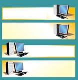 PC εμβλημάτων Στοκ Εικόνα
