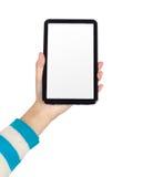PC ταμπλετών χεριών Στοκ φωτογραφίες με δικαίωμα ελεύθερης χρήσης
