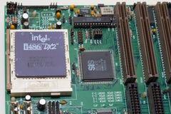 PC 486 DE LA IBM Imágenes de archivo libres de regalías