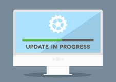 PC-Aktualisierung Stockbild