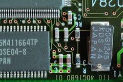 PC-apparaat aan boord royalty-vrije stock foto