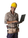 PC-Arbeitskraft stockbild