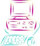 Pc computer Stock Image