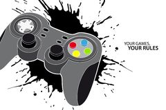 PC or console controller Royalty Free Stock Images