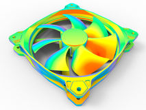 PC cooling unit analysis Stock Images