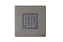PC CPU Chip Royalty Free Stock Photography