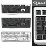 PC de claviers Photo libre de droits