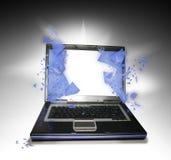PC de la computadora portátil Foto de archivo libre de regalías