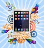 PC de la tableta Imagen de archivo