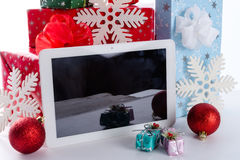 PC de la tableta Fotos de archivo libres de regalías