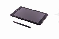 PC de la tableta de ocho pulgadas Foto de archivo libre de regalías