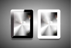PC de la tableta del vector Imagen de archivo libre de regalías