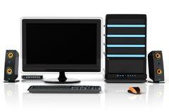 PC de multimedia Imagen de archivo libre de regalías