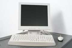 PC de poste de travail Photographie stock libre de droits
