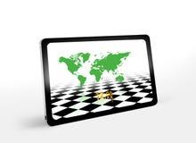 PC de tablette illustration de vecteur