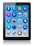 PC de tablette Images stock