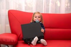 Pc del bambino Fotografia Stock Libera da Diritti