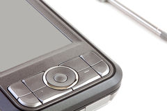 PC del bolsillo aislada en el fondo blanco Imagen de archivo libre de regalías