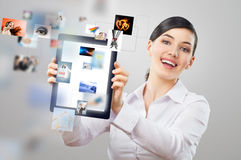 Pc del ridurre in pani Fotografie Stock