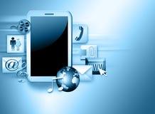 PC del ridurre in pani o del Touchpad Fotografia Stock Libera da Diritti