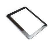 Pc della compressa di Digital isolato su fondo bianco Fotografia Stock