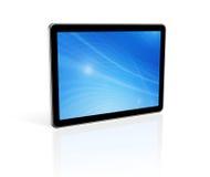 PC digital de la tablilla 3D Imágenes de archivo libres de regalías