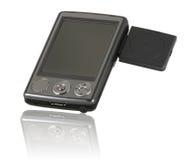 PC do bolso (PDA) com o GPS Imagens de Stock