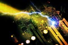 PC do cartão-matriz Fotos de Stock