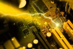 PC do cartão-matriz Foto de Stock