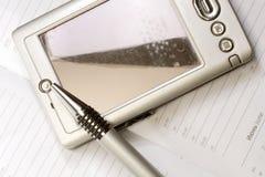 PC e penna della casella Fotografie Stock Libere da Diritti