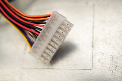 PC-Energieverbindungsstück lizenzfreie stockfotografie