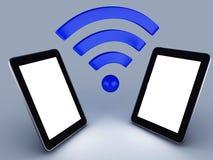PC för Wifi nätverksminnestavla Royaltyfri Foto
