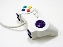 PC game controller. Old PC controller royalty free stock images