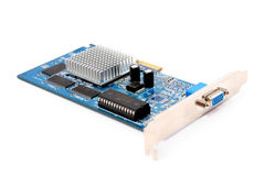 PC Hardware Video Card Royalty Free Stock Image