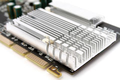 PC hardware video card Royalty Free Stock Photos