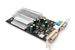 PC hardware video card Stock Photo