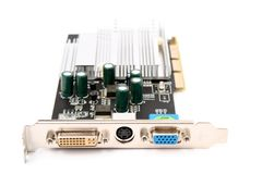 PC hardware video card royalty free stock photo