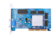 PC hardware video card Stock Photography