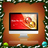 PC Holiday Background Royalty Free Stock Photography