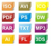 Pc icon Stock Images