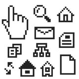 Pc icons Royalty Free Stock Image