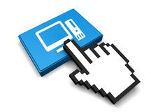 PC-Ikone Lizenzfreies Stockbild