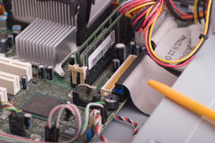 PC inner workings Royalty Free Stock Images