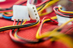 PC Kabel Lizenzfreie Stockfotografie
