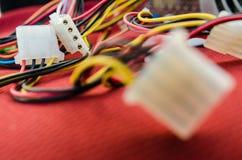 PC Kabel stockfotografie