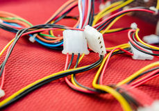 PC-Kabels royalty-vrije stock afbeelding